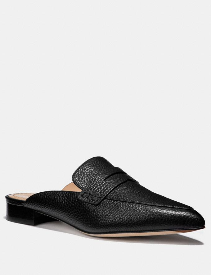 Coach Nova Loafer Slide Black