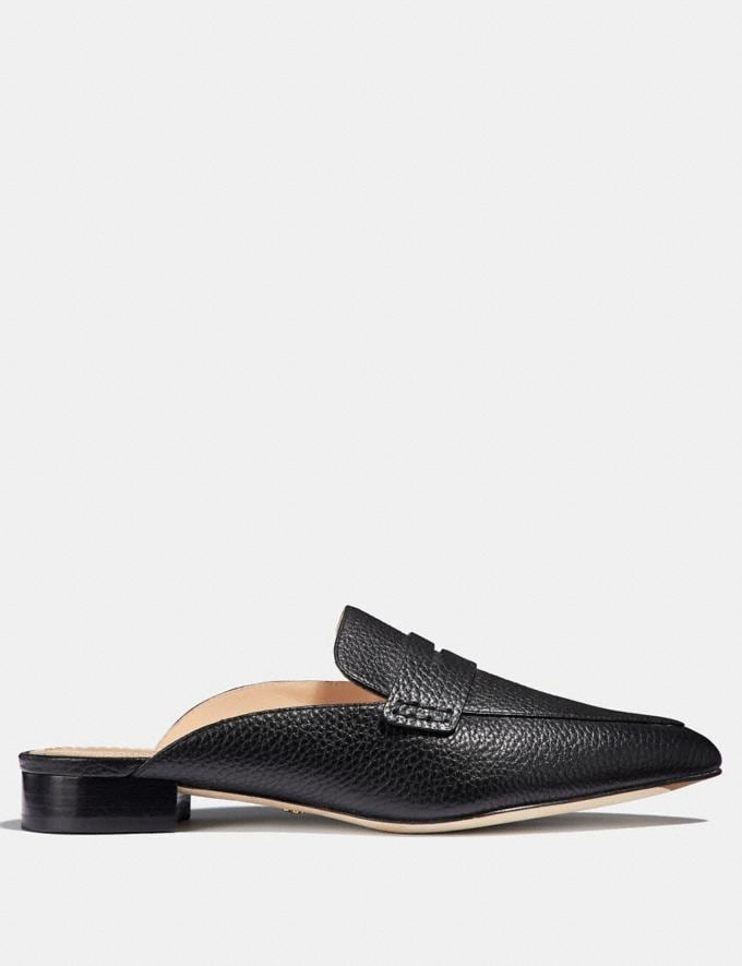 Coach Nova Loafer Slide Black  Alternate View 1