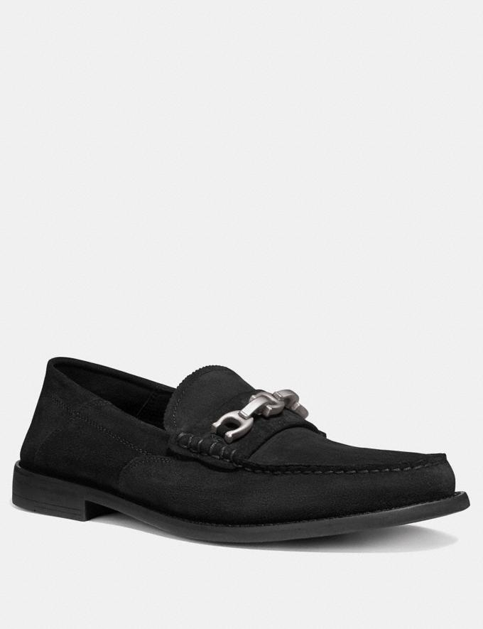 Coach Chain Loafer Black SALE Men's Sale