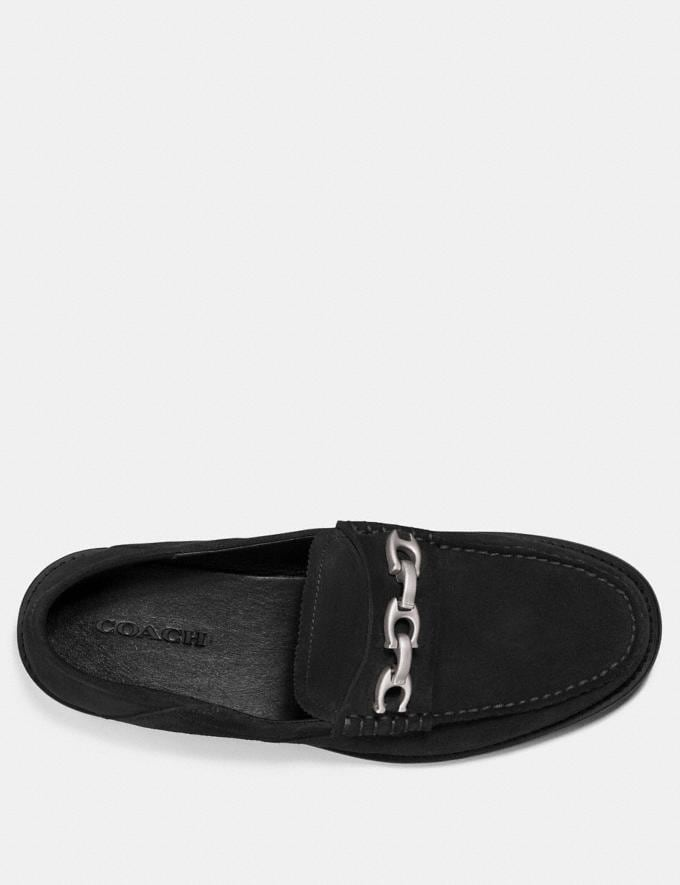 Coach Chain Loafer Black SALE Men's Sale Alternate View 2