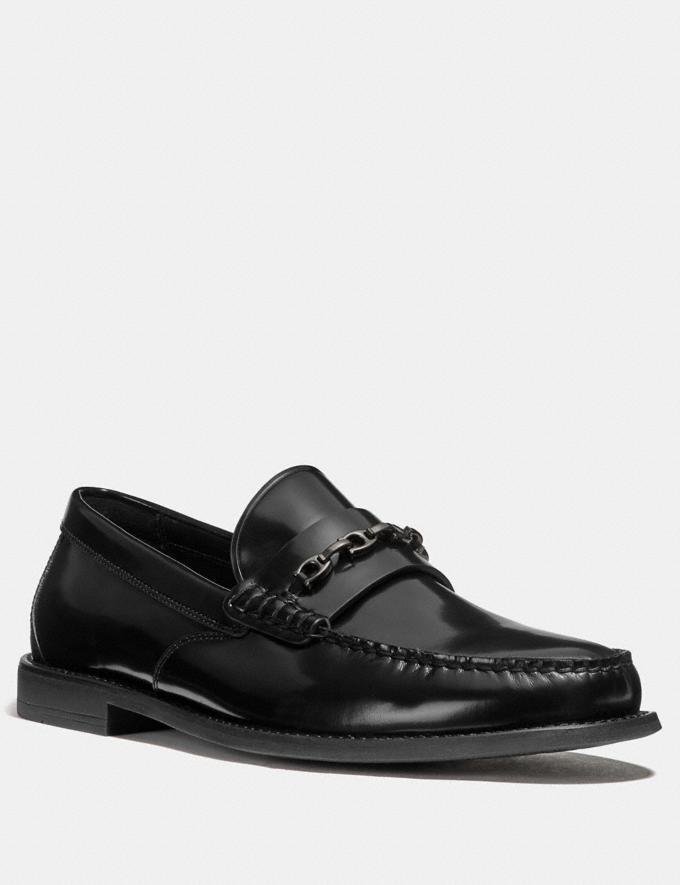 Coach Chain Loafer Black SALE Men's Sale Shoes