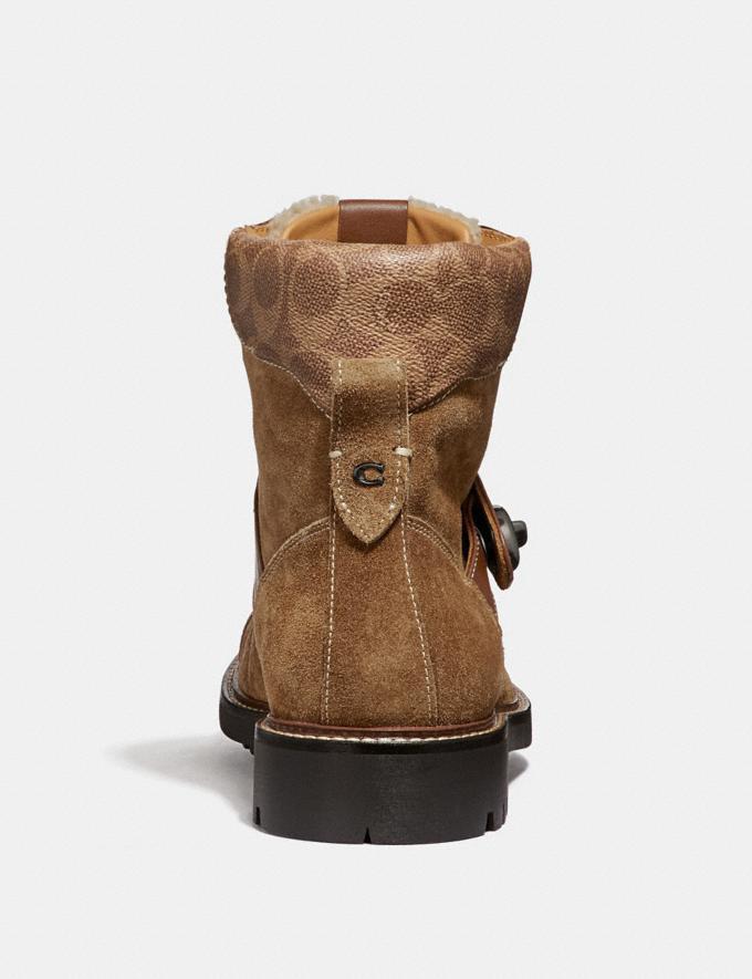 Coach Hiker Boot Light Saddle/Khaki  Alternate View 2