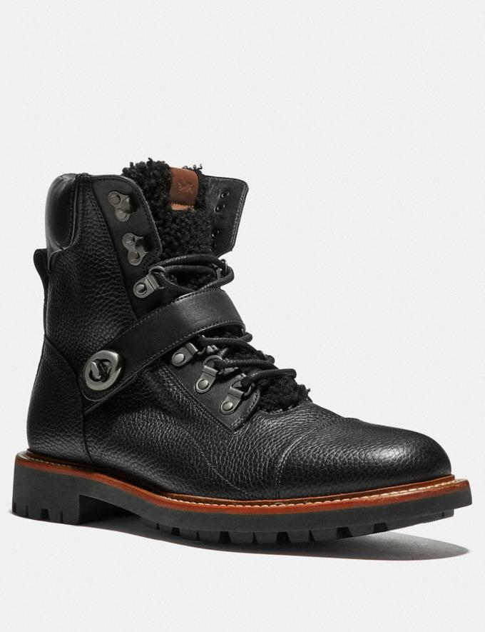 Coach Hiker Boot Black/Black