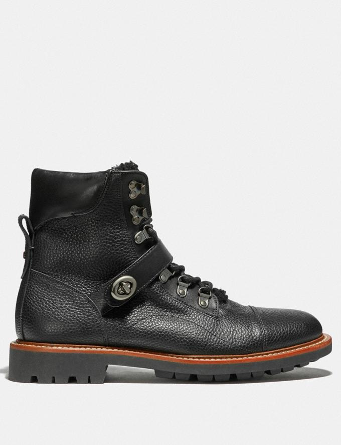Coach Hiker Boot Black/Black  Alternate View 1
