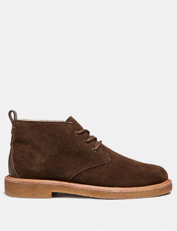 Coach Desert Boot Mocha  Alternate View 1