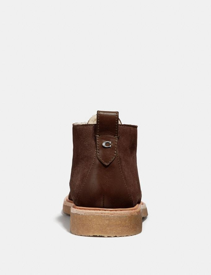 Coach Desert Boot Mocha  Alternate View 2