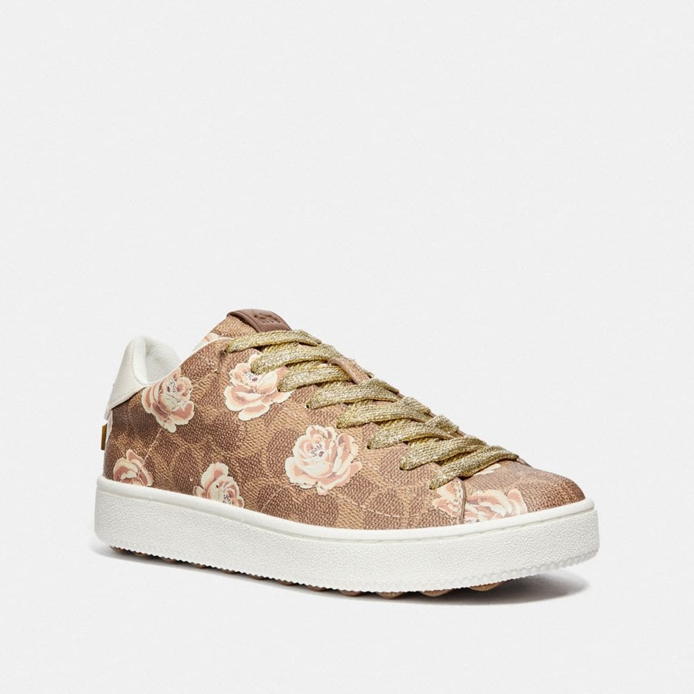 Coach C101 With Signature Floral Print