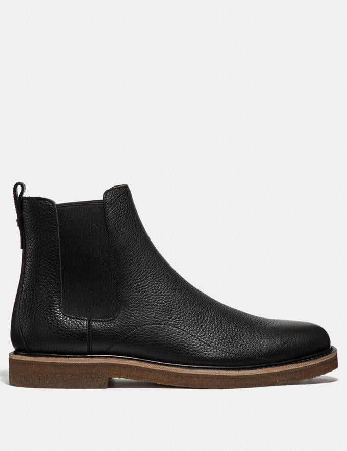 Coach Chelsea Boot Black  Alternate View 1