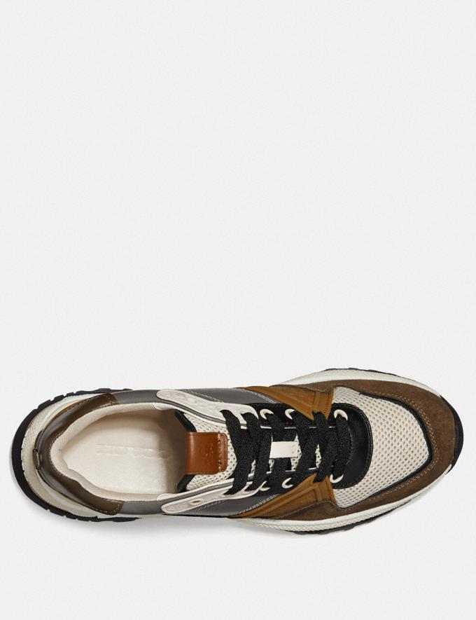 Coach C143 Runner Heather Grey/Fatigue  Alternate View 2