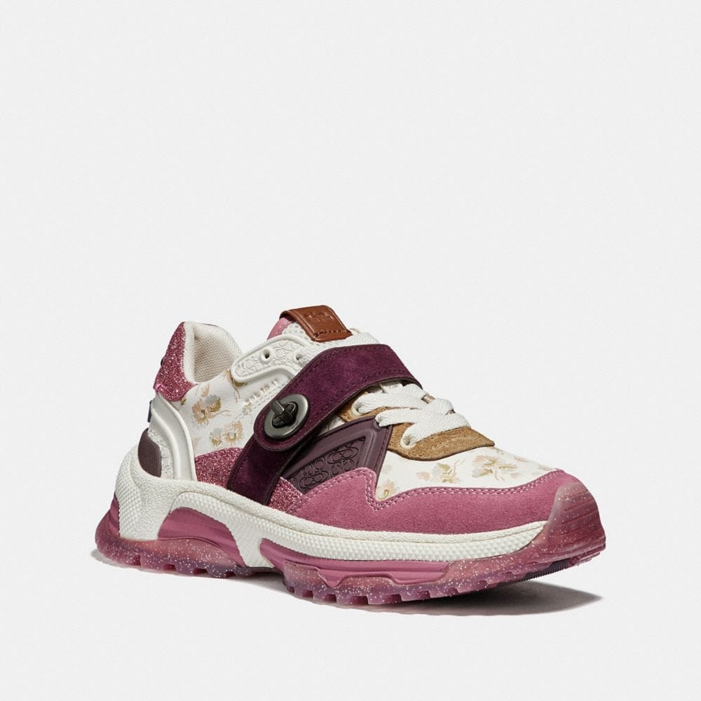 Coach C143 Runner With Prairie Daisy Print