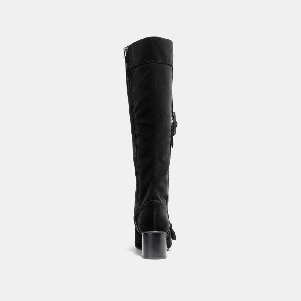 Coach Knee High Signature Buckle Boot Alternate View 2