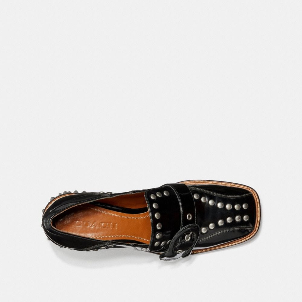 Coach Signature Buckle Loafer Alternate View 2