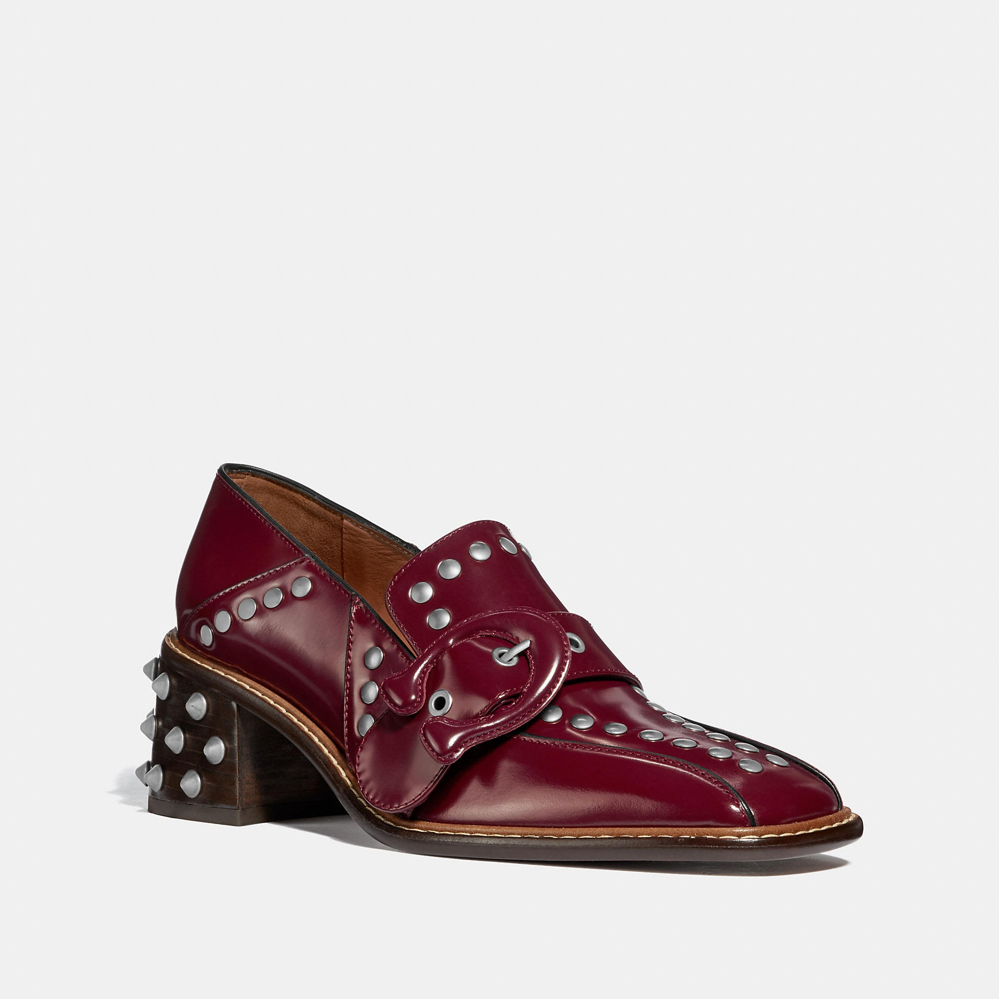 Coach Signature Buckle Loafer