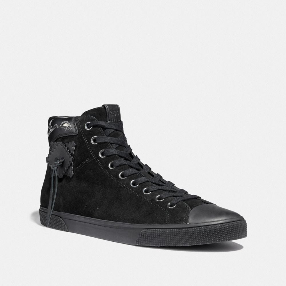 Coach C220 High Top Sneaker