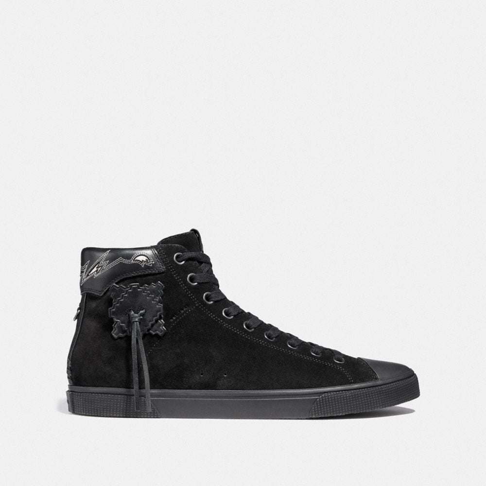 Coach C220 High Top Sneaker Alternate View 1