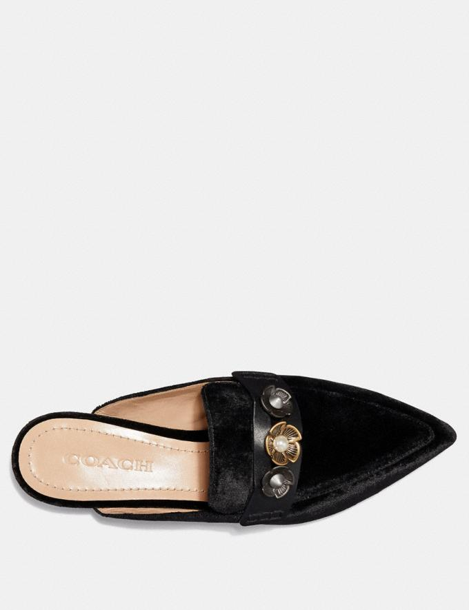 Coach Nova Loafer Slide Black  Alternate View 2