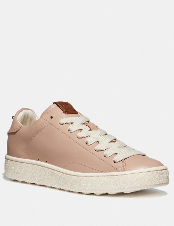 Coach C101 Low Top Sneaker Pale Blush/Pale Blush SALE Women's Sale