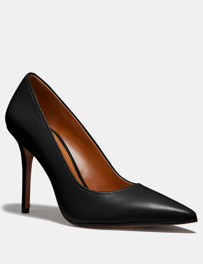 Coach Waverly Pump Black Women Shoes Heels