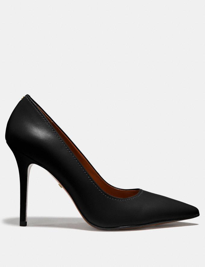 Coach Waverly Pump Black SALE Women's Sale Shoes Alternate View 1
