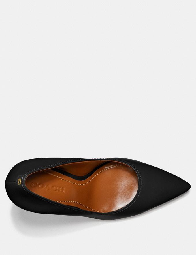 Coach Waverly Pump Black Women Shoes Heels Alternate View 2