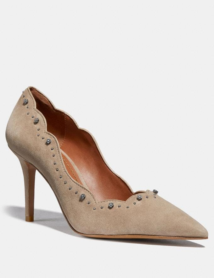 Coach Waverly Pump Grey SALE Women's Sale Shoes