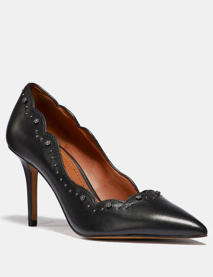 Coach Waverly Pump Black SALE Women's Sale Shoes