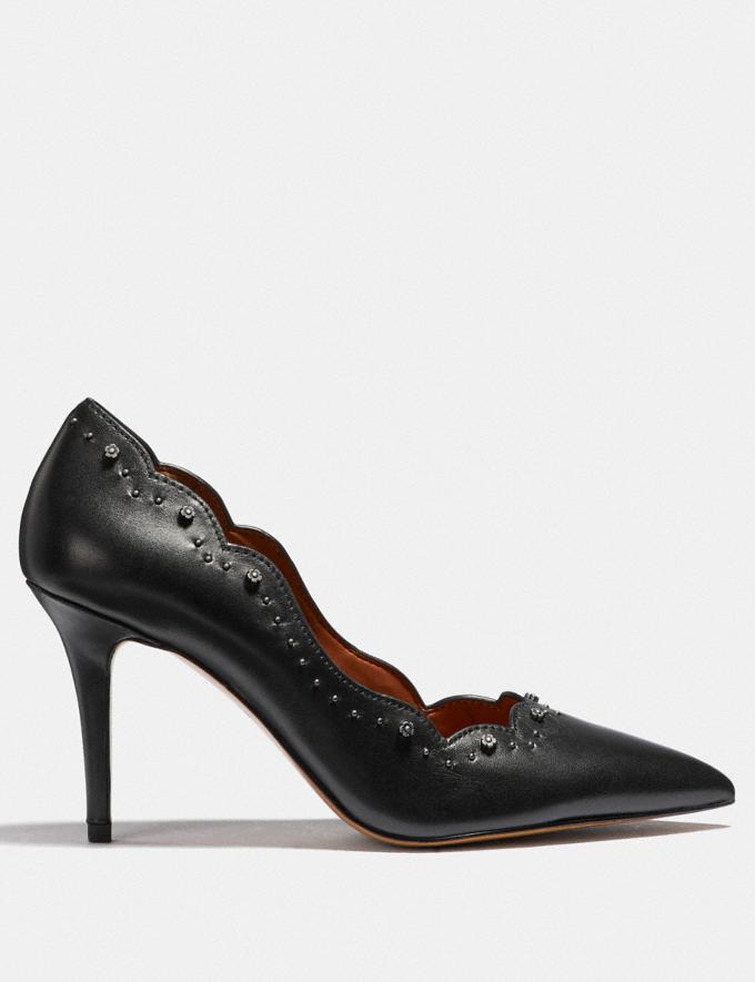 Coach Waverly Pump Black SALE Women's Sale Shoes Alternate View 1