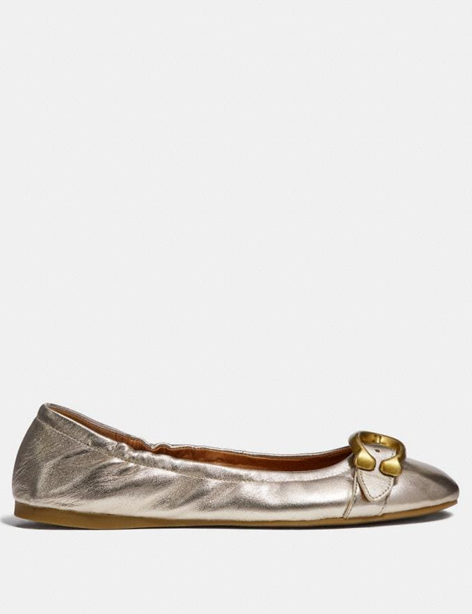Coach Stanton Ballet Champagne Friends & Family Sale Women's Shoes Alternate View 1