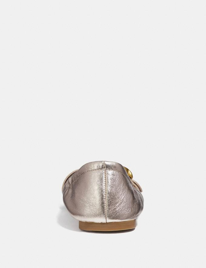 Coach Stanton Ballet Champagne Friends & Family Sale Women's Shoes Alternate View 3