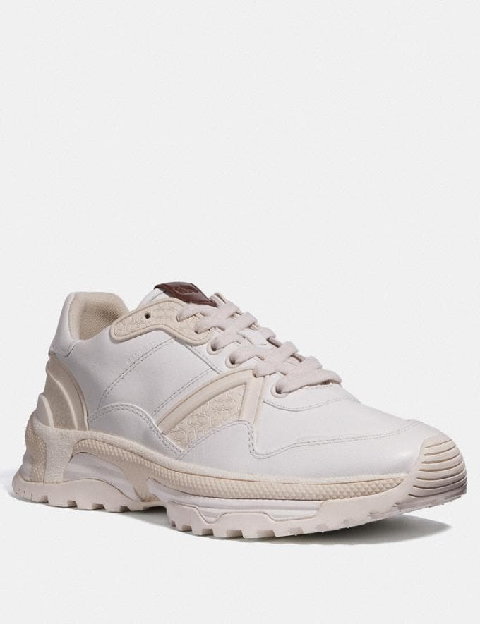 Coach C143 Runner White Men Shoes Sneakers
