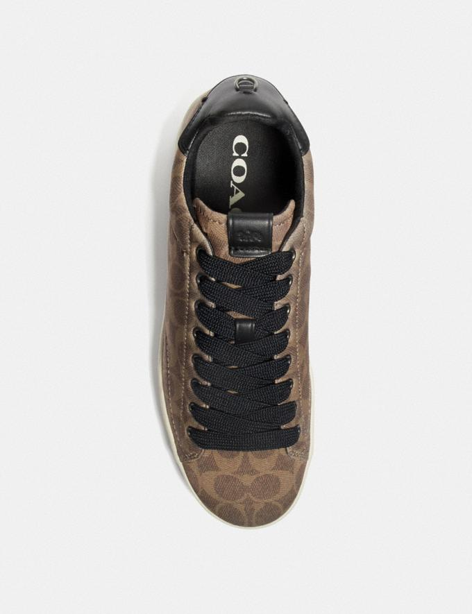 Coach C101 Low Top Sneaker Khaki New Men's New Arrivals Shoes Alternate View 2