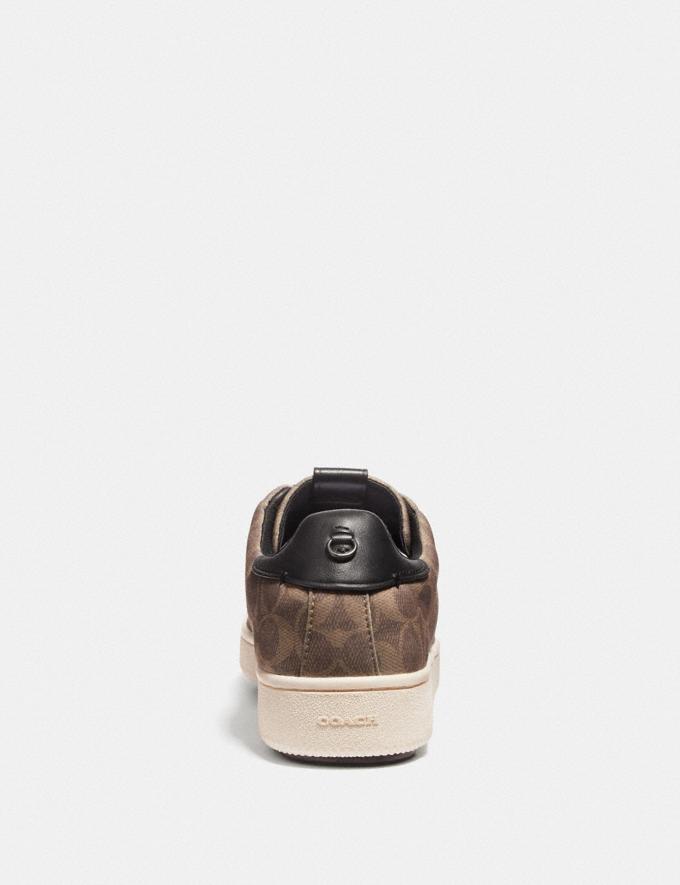 Coach C101 Low Top Sneaker Khaki New Men's New Arrivals Shoes Alternate View 3