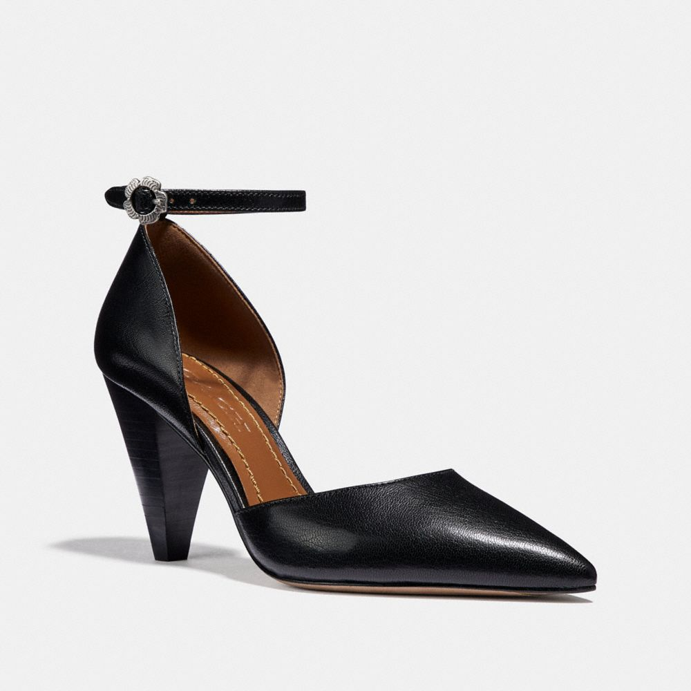 wynne ankle strap d'orsay