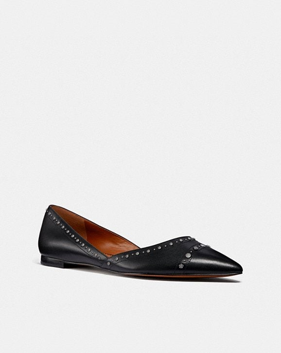 Coach VALINTINA FLAT WITH STUDS