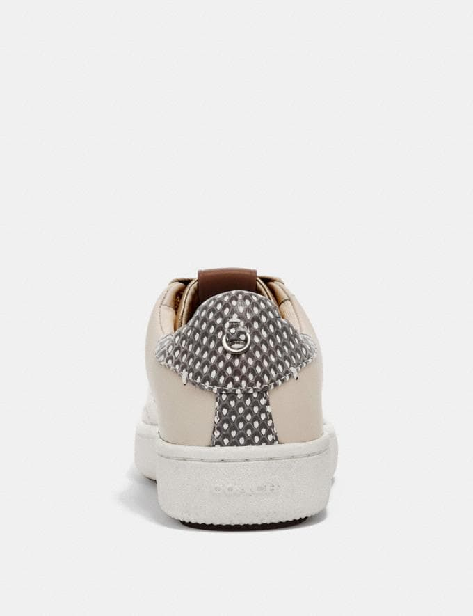 Coach C101 With Snakeskin Detail Chalk/Natural  Alternate View 3
