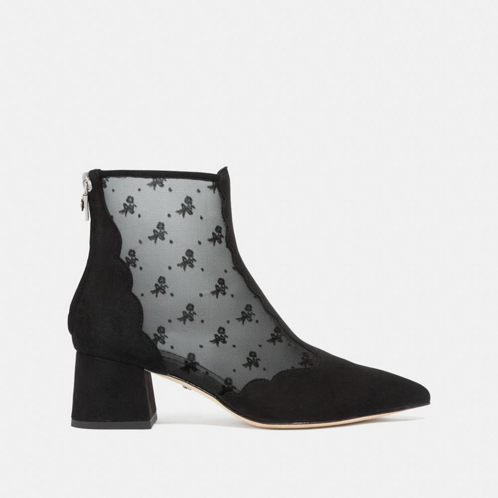 Coach Skyler Ankle Bootie With Tea Rose Mesh Alternate View 1