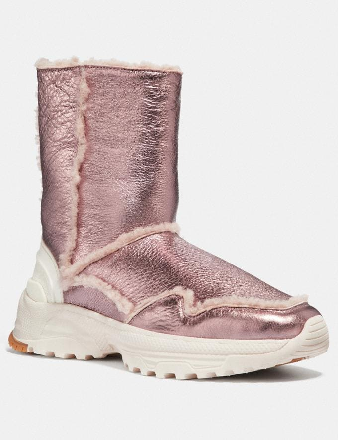 Coach Portia Cold Weather Bootie Pink/Pink New Featured Online-Only