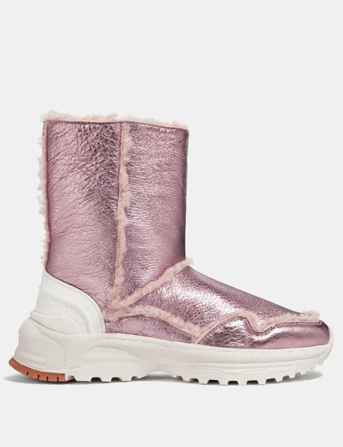 Coach Portia Cold Weather Bootie Pink/Pink New Featured Online-Only Alternate View 1