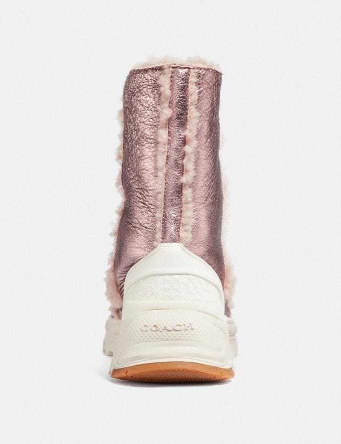 Coach Portia Cold Weather Bootie Pink/Pink New Featured Online-Only Alternate View 3