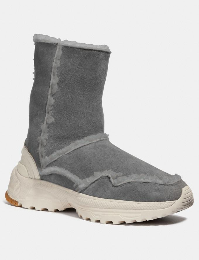 Coach Portia Cold Weather Bootie Grey/Grey Women Shoes Booties