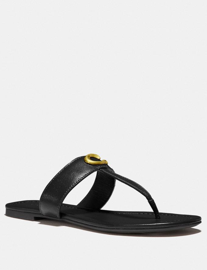 Coach Jessie Sandal Saddle