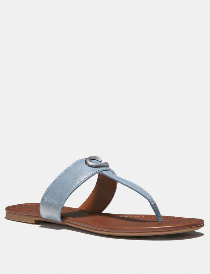 Coach Jessie Sandal Mist Women Shoes Flats