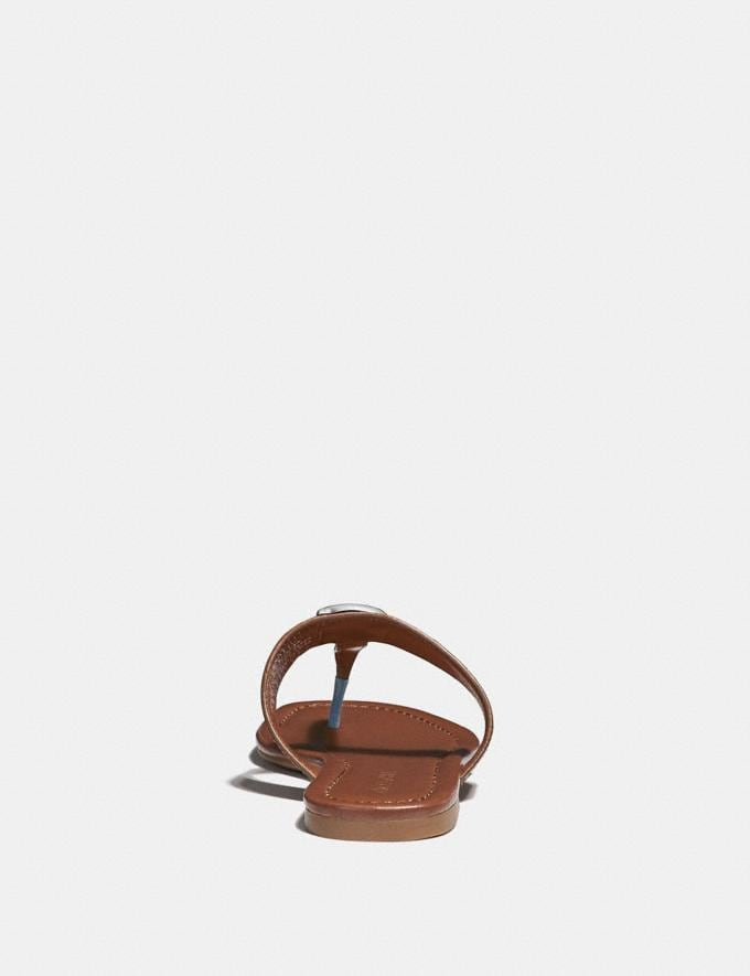 Coach Jessie Sandal Mist Women Shoes Flats Alternate View 3
