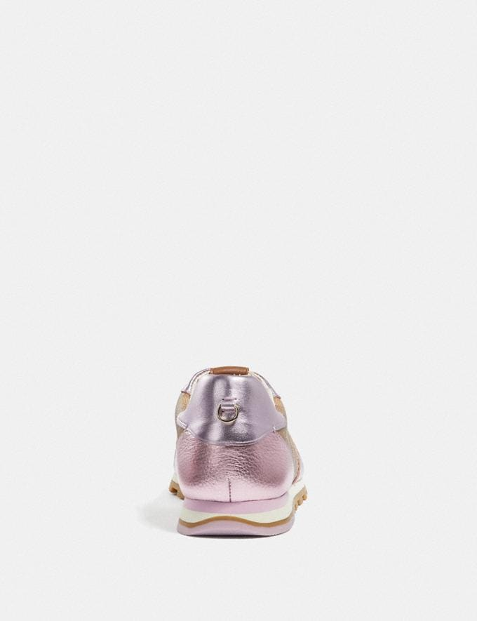 Coach C118 Tan/Pink Friends & Family Sale Women's Shoes Alternate View 3