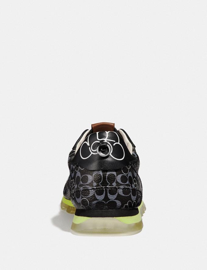 Coach C118 by Giz Black Multi Women Shoes Trainers Alternate View 3