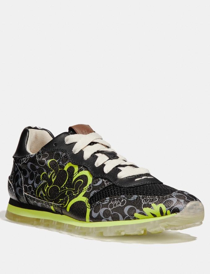 Coach C118 by Giz Black Multi Men Shoes Trainers