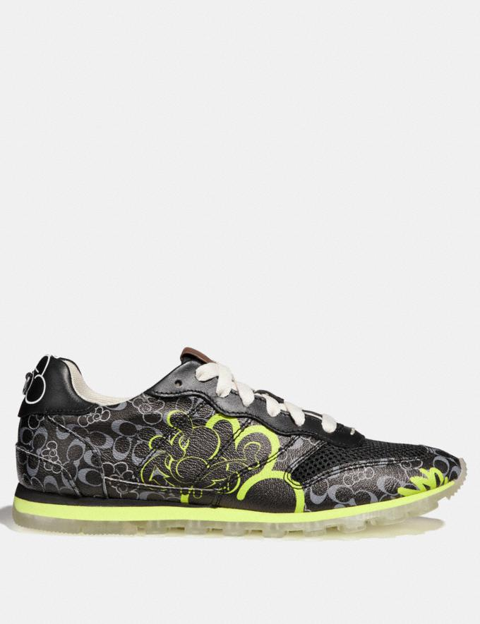 Coach C118 by Giz Black Multi Men Shoes Trainers Alternate View 1