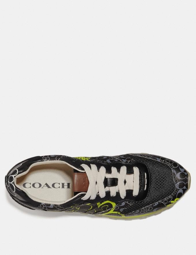 Coach C118 by Giz Black Multi Men Shoes Trainers Alternate View 2