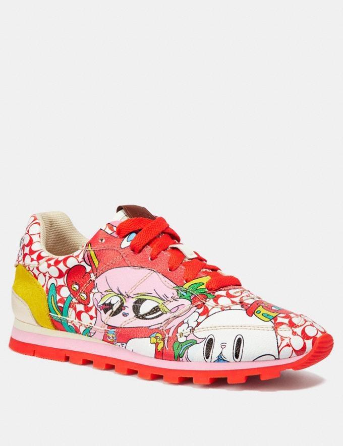 Coach C118 by Sawako Kageyama Red Multi/ Red SALE Men's Sale Shoes