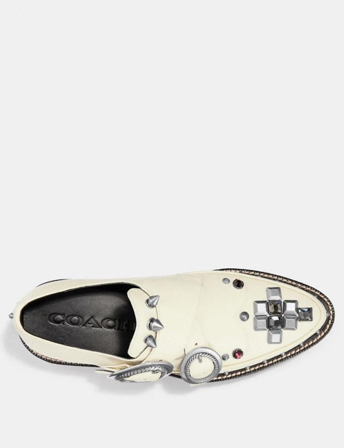 Coach Western Creeper Chalk SALE Women's Sale Shoes Alternate View 2